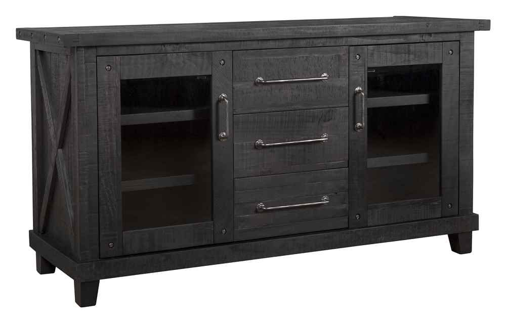 Check Amazon's Price for this Rustic Sideboard to Use as a Coffee Station