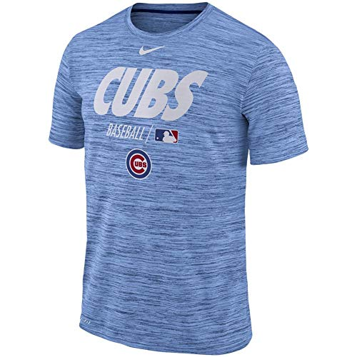 League Tees Chicago Authentic Collection Velocity Team Issue Performance T-Shirt - Light Blue (XX-Large)