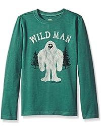 B Long Sleeve Boys Tee Wild Man Htfrgr T-Shirt,