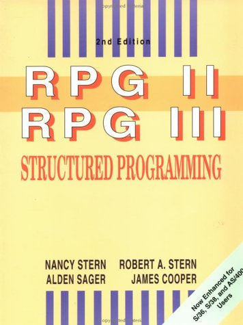 RPG II and RPG III Structured Programming by Wiley