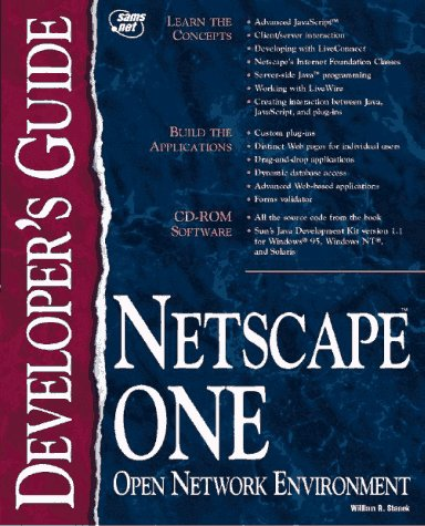 netscape-one-developers-guide-sams-developers-guides
