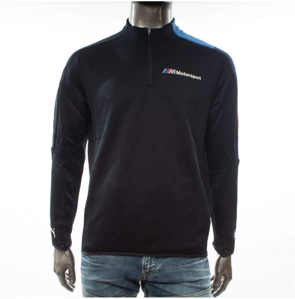 Vêtement Sweats Puma homme BMW MMS T7 1//2 Zip Track taille Noir Coton