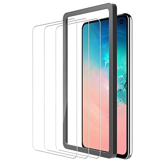 [3Pack] TOCOL Screen Protector for Samsung Galaxy S10e, [Case  Friendly][Bubble Free][Alignment Frame Easy Installation] Technology  Tempered Glass with