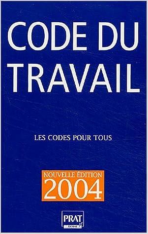 Livres gratuits Code du travail 2004 pdf, epub