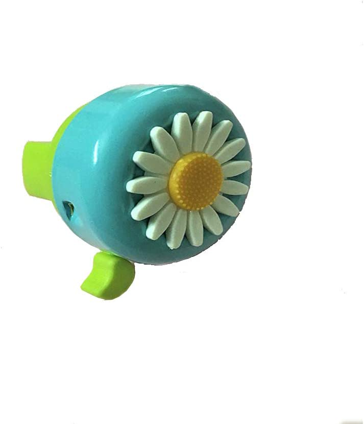 Clear /& Loud Horns Girl Child Daisy Cycling Alarm Ring Bicycle Bike Cycle Bell #