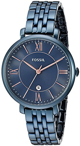 fossil blue watch women - 1