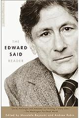The Edward Said Reader Kindle Edition