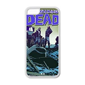 Custom Walking Dead Back Cover Case for ipod touch 4 touch 4 LLCC-534