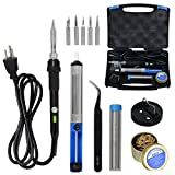 Best low heat soldering iron - Voilamart Soldering Iron Kit 60W 110V with Case Review