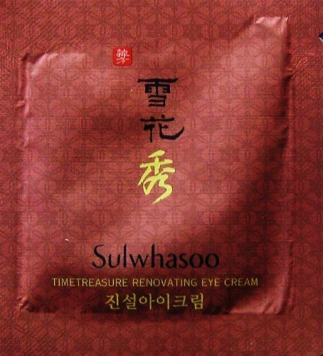 30X Sulwhasoo Sample Timetreasure Renovating Eye Cream 1 ml. Super Saver Than Normal - Size Normal Eye