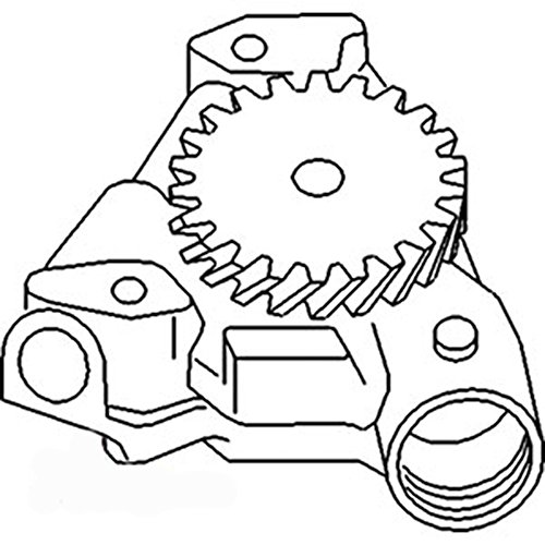 New Pump Engine Oil (2130385 New Engine Oil Pump Made to fit Allis Chalmers AC Tractor Models 7085 +)