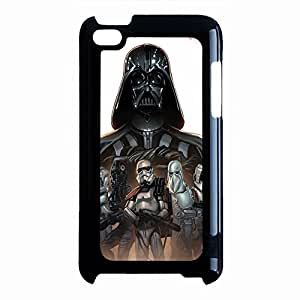 Ipod Touch 4th Generation Case Cover Cool Powerful darth vader robots Fantasy Movie Star Wars Phone Case Cover The Force Awakens series