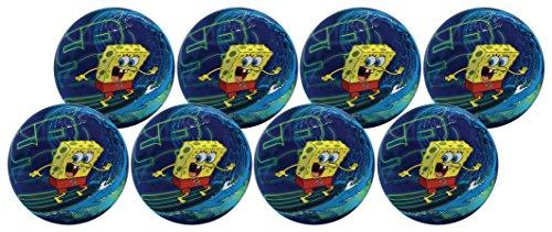 Hedstrom 10 Sponge Bob Play Ball (8 Pack) by Hedstrom