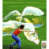 Bubble Thing BIG BURBUJAS Varita y mezcla - ¡HACE 2.7 GALONES! - ¡Burbujas más grandes, menos costos!