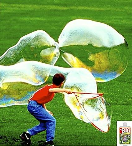 d7068df42778 Amazon.com  Bubble Thing Big Bubbles Wand and Mix - Makes 2.7 GALLONS! -  Bubbles Biggest