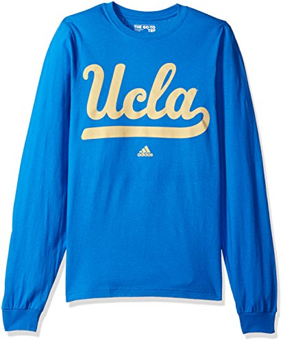 adidas NCAA Mens Huge Preferred Logo Go-to Long Sleeve Tee
