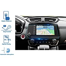 Honda CRV EX EX-L Touring 2017 2018 Car Navigation Screen Protector, LFOTPP Clear Tempered Glass Infotainment In-Dash Center Touch Screen Protector Anti Scratch High Clarity