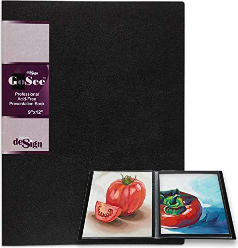 GoSee Professional Archival Presentation Book 9x12'' 24 Pages