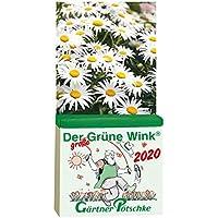 Gärtner Pötschkes Der GROSSE Grüne Wink Tages-Gartenkalender 2020: Maxiausgabe