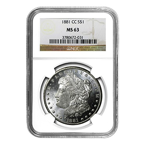 1881 CC Morgan Dollar $1 MS-63 NGC