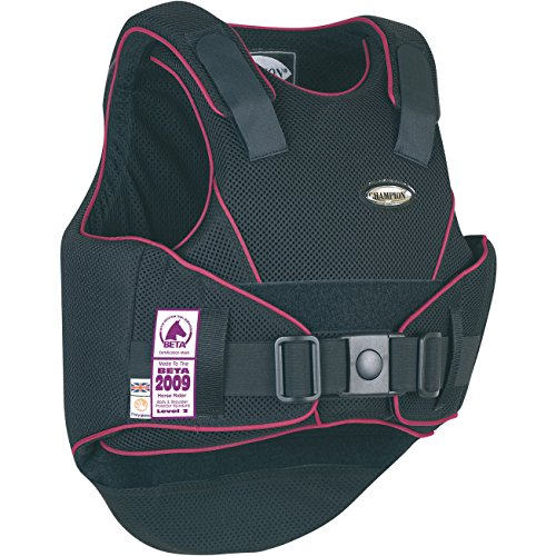 Champion Flexair Body Protector Body Protector Medium Long (Jnr) Black/Berry