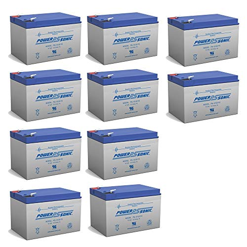 - Powersonic 12V 12AH Battery Replaces Eaton Net UPS 700 Rackmount - 10 Pack