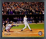 "Cal Ripken Jr. Baltimore Orioles MLB Last At Bat Action Photo (Size: 12"" x 15"") Framed"