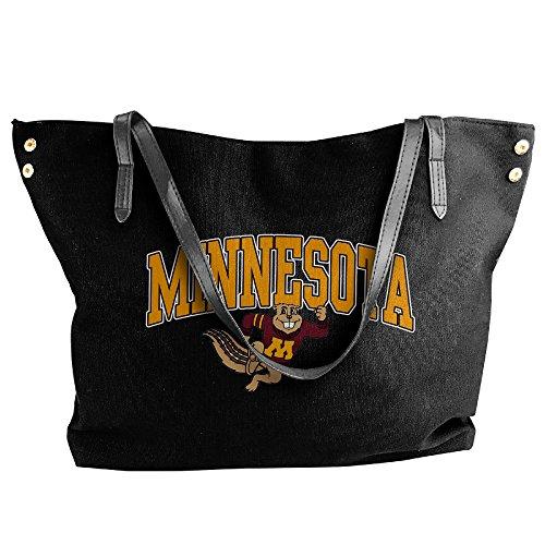 [Ncaa Minnesota Golden Gophers Twin Cities Teams Logo Handbag Shoulder Bag For Women] (Gopher Costumes)