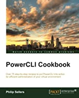 PowerCLI Cookbook Front Cover