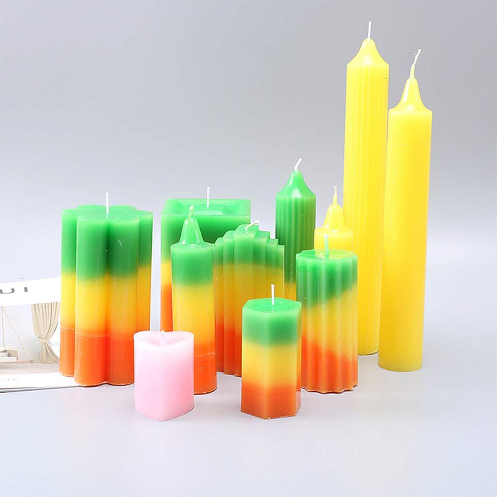 Stampi per candele fai da te per Natale RUINAIER kit di forniture vacanze regali