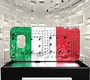Funda Carcasa para Galaxy S7 Bandera ITALIA 06