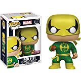Iron Fist (PX Exclusive): Funko POP! Marvel x Marvel Universe Vinyl Figure + 1 FREE Official Marvel Trading Card Bundle (11127)
