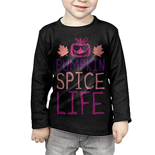 ids Children Unisex Long Sleeve Cotton Crew Neck T-Shirt Tee (Old Spice T-shirt)