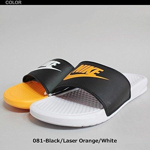 NIKE(ナイキ)ナイキベナッシミスマッチサンダルJDI818736-081【nike35】24cmBlack/L.Orange/White[並行輸入品]