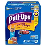 3 Wholesale Lots Huggies Pull-Ups Learning Designs 4T-5T 38-50lbs, 216 Pull-Ups Total