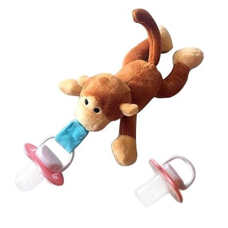 Bebé chupete juguete】 ZLFT bebé que cuelga animales felpa variedad ...