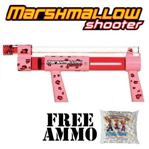Cheetah Marshmallow Shooter w/ Free Bag of Marshmallow Ammo -