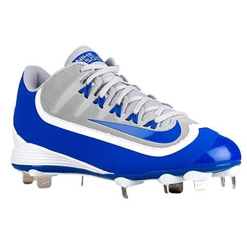 Nike Air Huarache 2K Filth Pro Low Metal BaseballShoes Cleats Blue/Gry/Whte-8