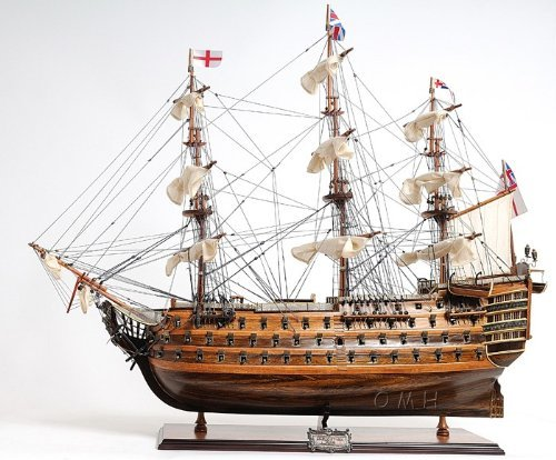 - Old Modern Handicrafts Exclusive Edition HMS Victory Collectible