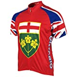 Adrenaline Promotions Canadian Provinces Ontario Cycling Jersey