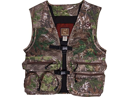 Ol' Tom Time & Motion Cotton Full Turkey Vest Realtree Xtra Green Camo (Customized Toms compare prices)