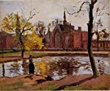 Pissarro Camille Dulwich College London 100% Hand Painted Oil Paintings Reproductions 12X16 Inch