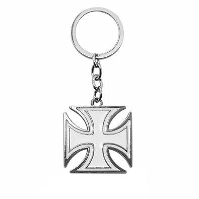 tumundo Llavero + Caja Regalo Llave Diseño Cruz Negro Bianco ...