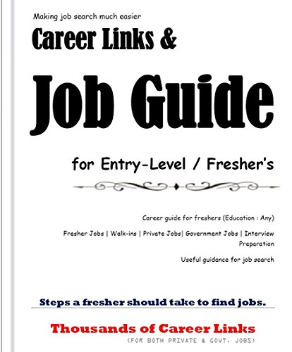 Career Links & Job Guide for Entry-Level / Fresher's (Human Resource Management In Oil And Gas Industry)
