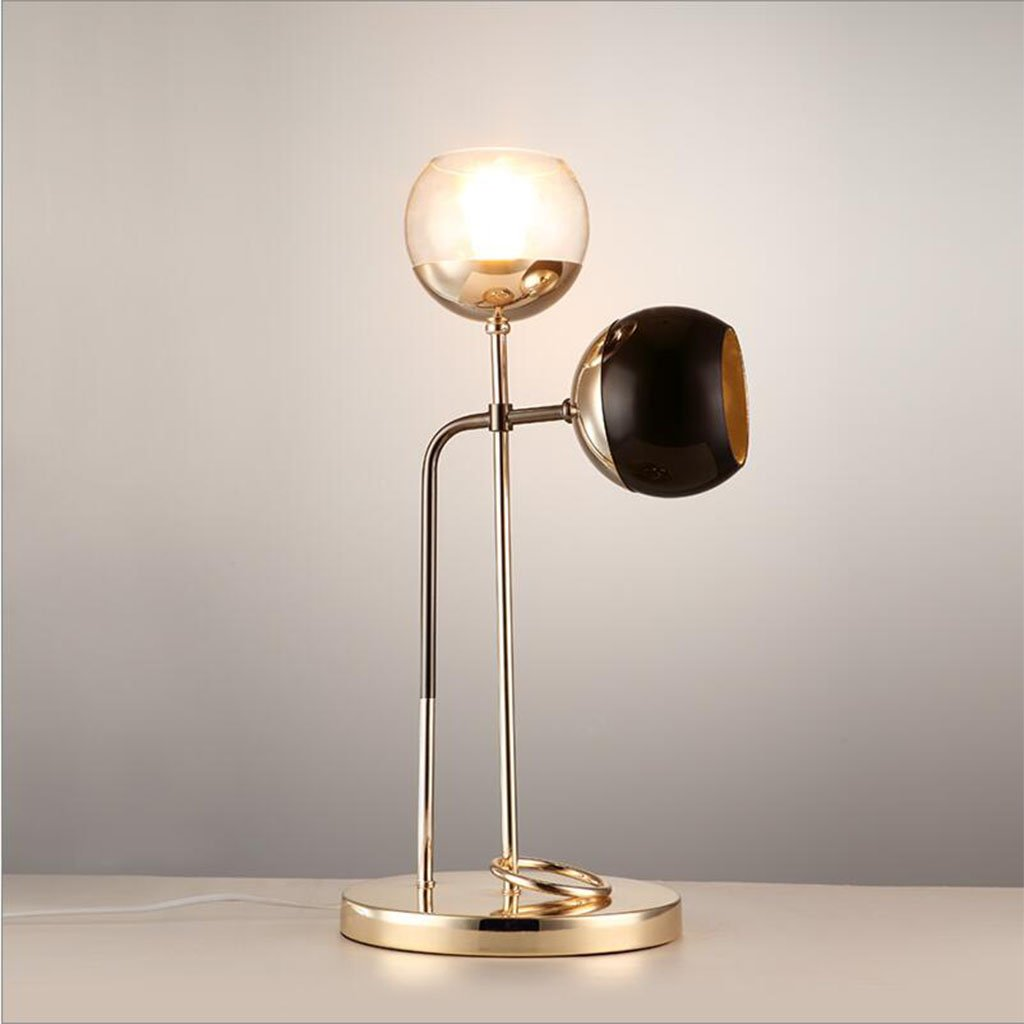 現代ファッションテーブルランプベッドルームベッドサイドランプパーソナリティレトロ創造的な装飾的なテーブルランプ   B07RN7ZGTD