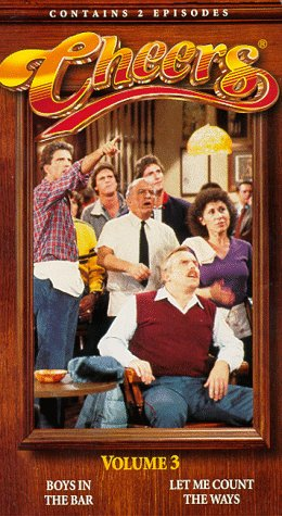 Click for larger image of Cheers, Vol. 3 - Boys in the Bar / Let Me Count the Ways [VHS]