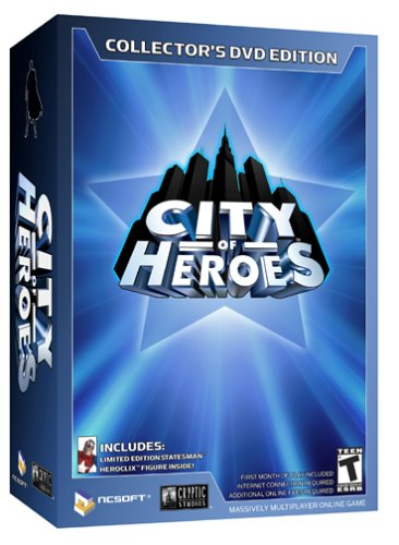 Heroes Collectors - City of Heroes Collector's DVD Edition - PC