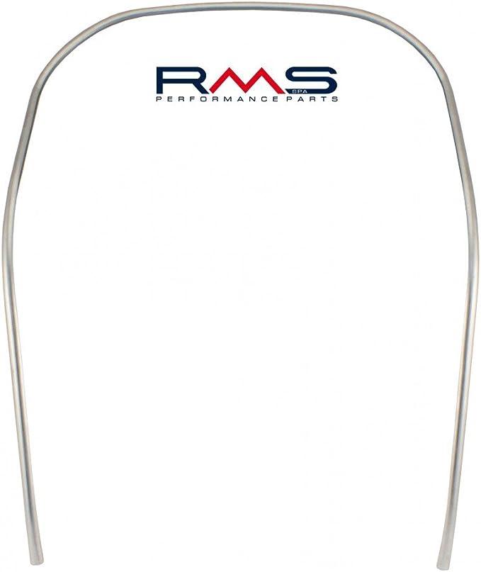 Monoschlitzrohr Kantenschutz Beinschild Rms Aluminium Für Vespa 50 125 Smallframe Auto