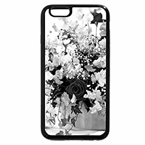 iPhone 6S Plus Case, iPhone 6 Plus Case (Black & White) - SOFT DELIACIES