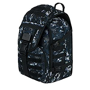 East West U.S.A RTC504 Tactical Molle Military Assault Rucksacks Backpack, Navy Camo